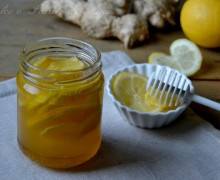Miele zenzero e limone