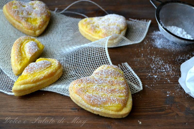 ricetta cuori al limone| Dolce e Salato di Miky