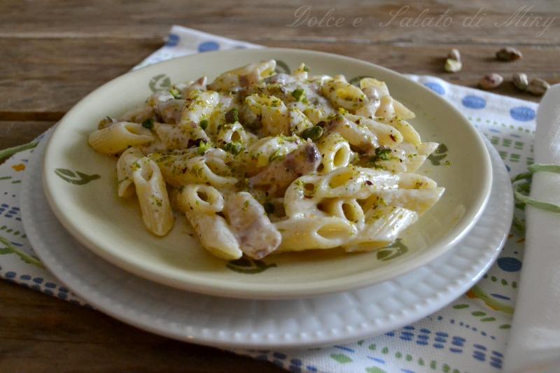 ricetta pasta con pancetta e pistacchi  Dolce e Salato di Miky