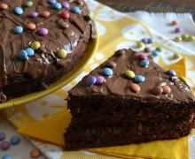 Torta smarties e cioccolato