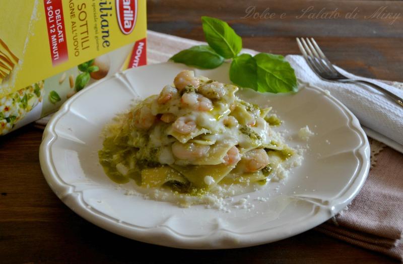 ricetta lasagne scomposte ai gamberetti  Dolce e Salato di Miky