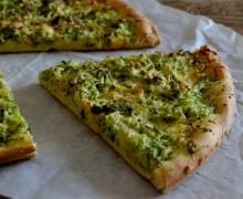 Focaccia di zucchine e formaggio