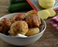 Frittelle di zucchine e patate