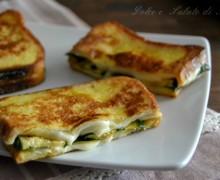 French toast con zucchine