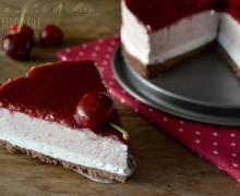 Torta fredda alle ciliegie