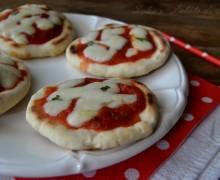 Pizzette veloci in padella