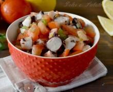 Insalata di polpo e pomodori