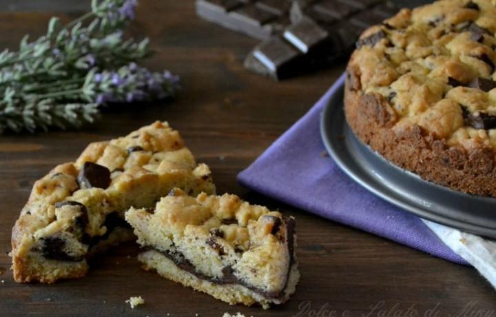 Torta cookies con nutella