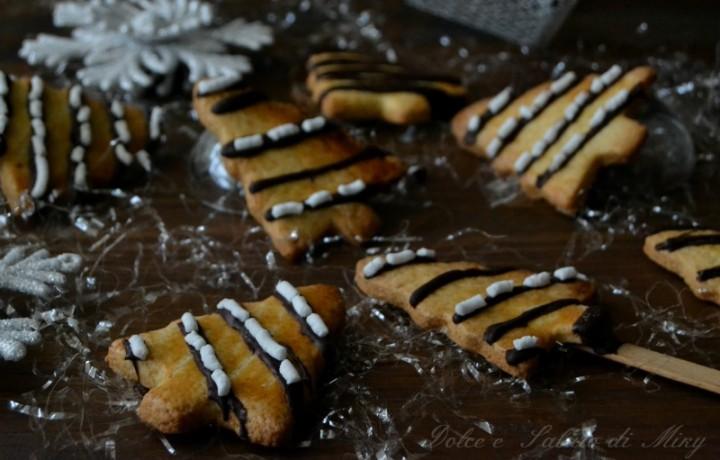 Alberelli di Natale biscotto