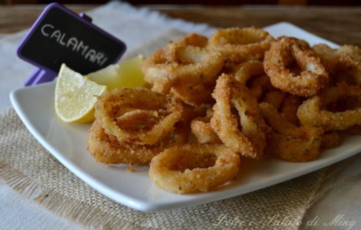 Calamari impanati