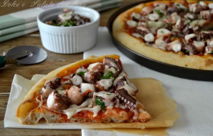 Pizza con polpo
