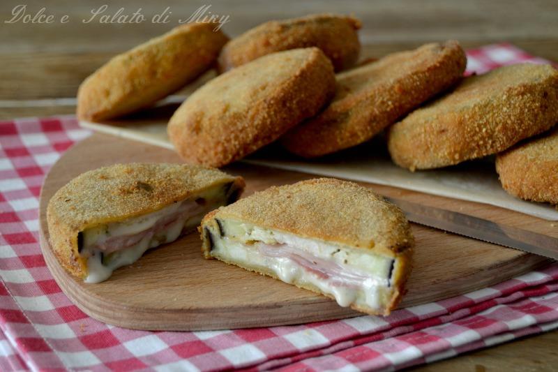 Sandwich di Melanzane al Prosciutto
