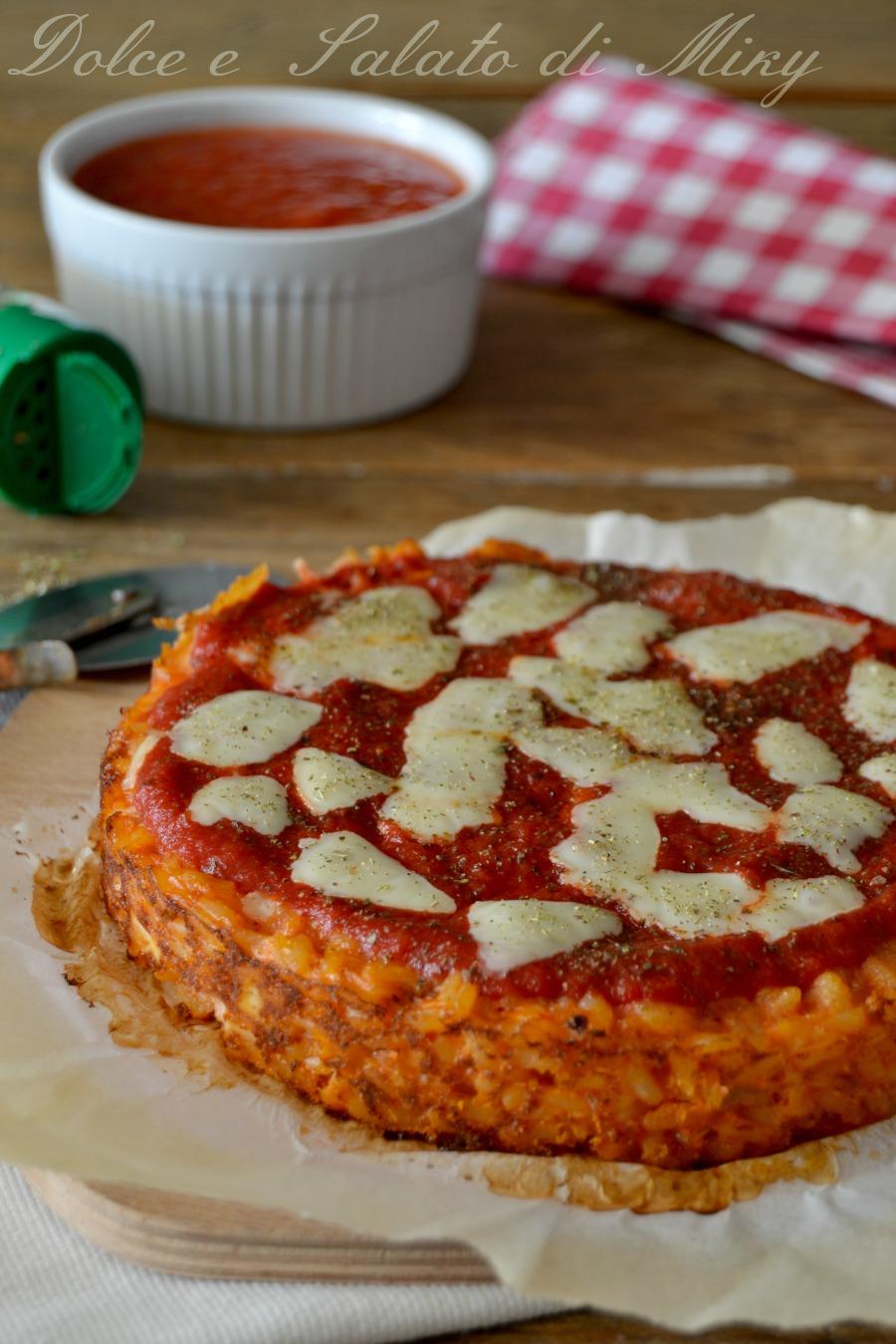 Pizza di riso