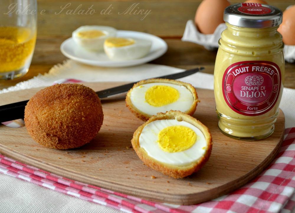 Polpette di uova sode alla senape