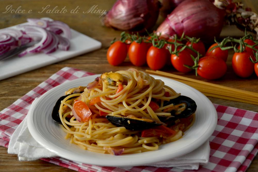 ricette spaghetti con cozze sgusciate e surgelate - le ricette di