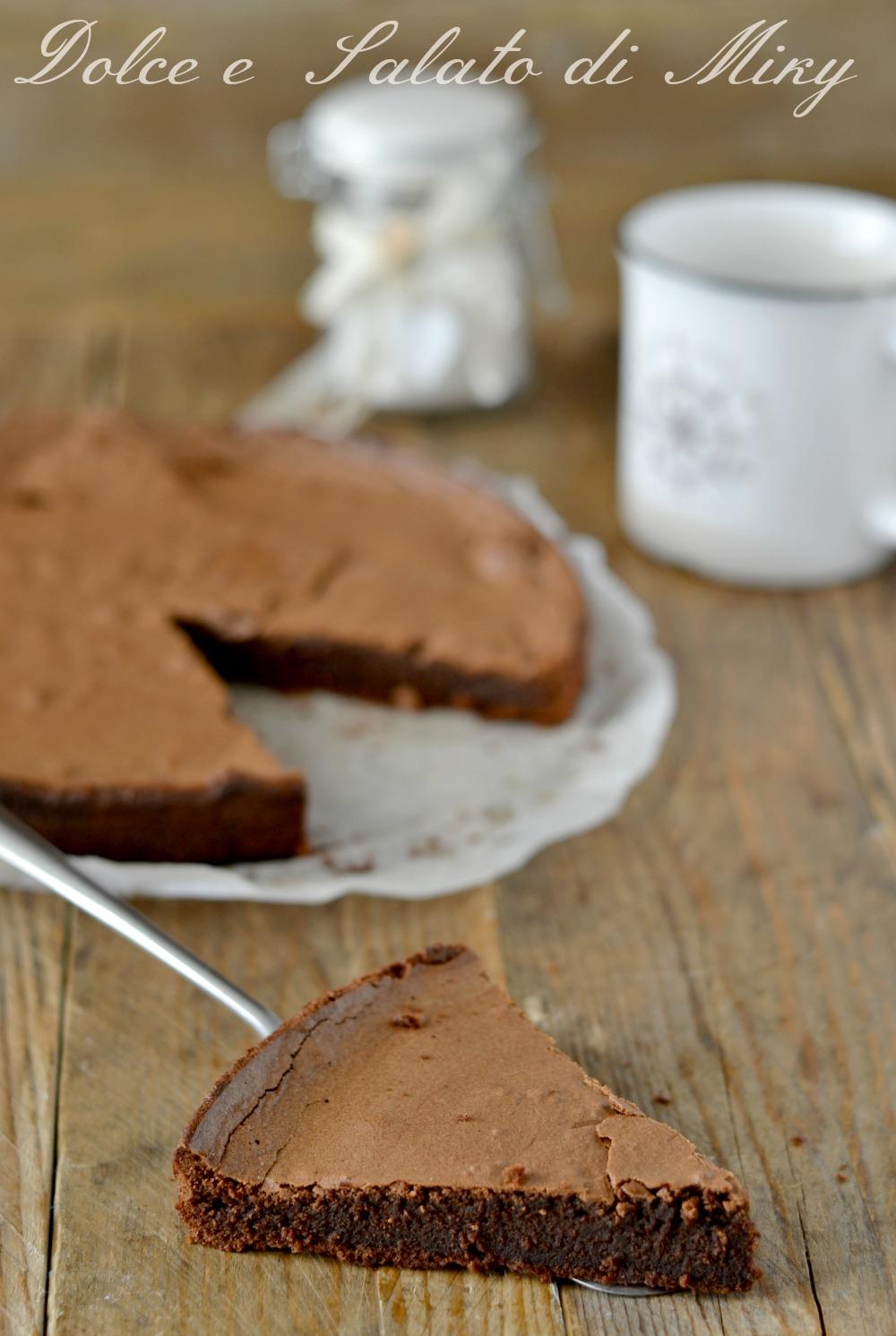 Torta al Cioccolato Cuore Morbido