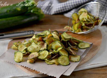 Chips di zucchine infarinate