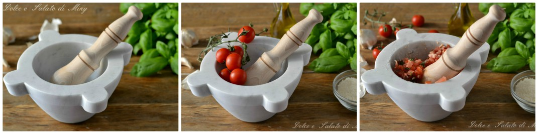 Pasta al pesto di pomodoro