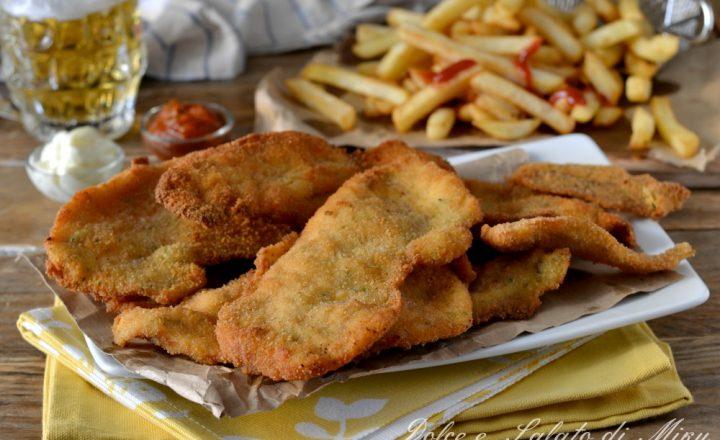 Cotolette di pollo aromatizzate