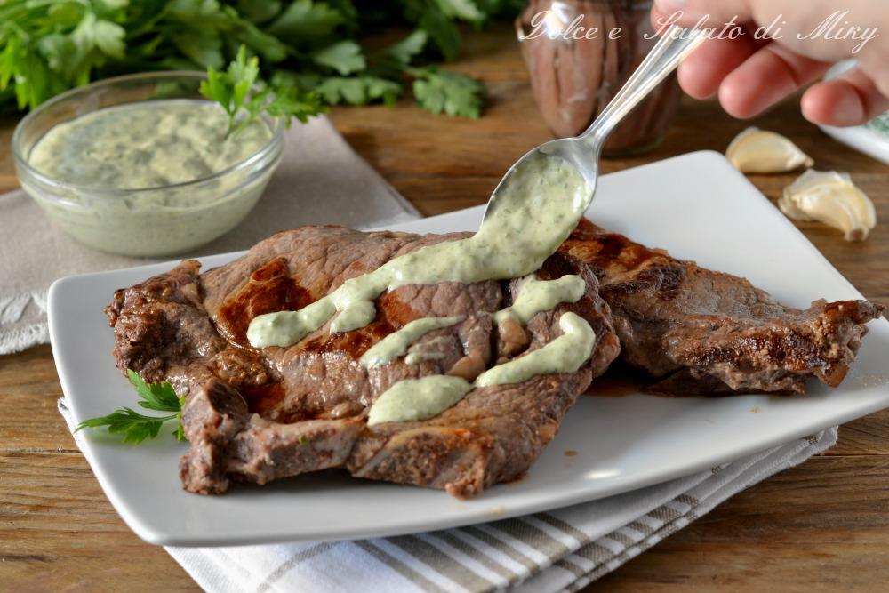 Costate in salsa verde