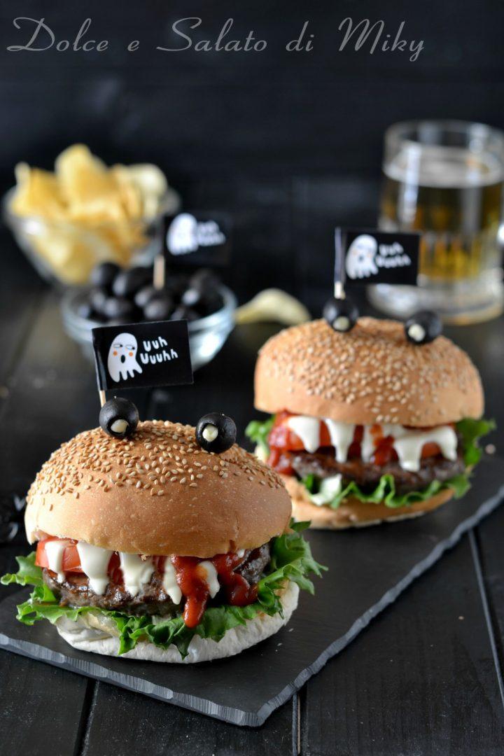 Amato Moster burger, panini mostruosi perfetti per Halloween BW48