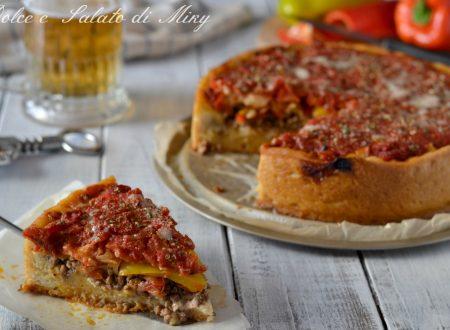 Pizza Chicago con peperoni