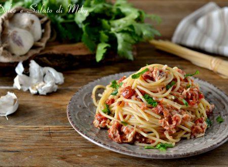 Spaghetti con il cefalo