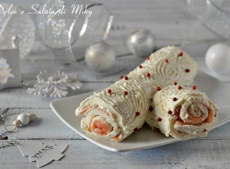 Tronchetto di Natale al salmone