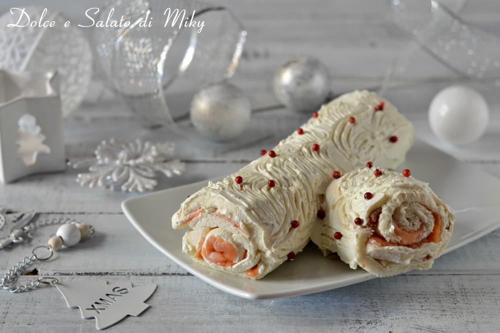 Tronchetto Di Natale Zafferano.Tronchetto Di Natale Con La Nutella Ricetta Veloce E Facile
