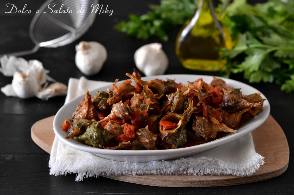 Come cucinare i murici bolliti al verde o al pomodoro for Cucinare 5 minuti