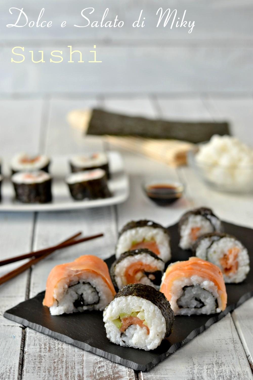 Sushi al salmone affumicato