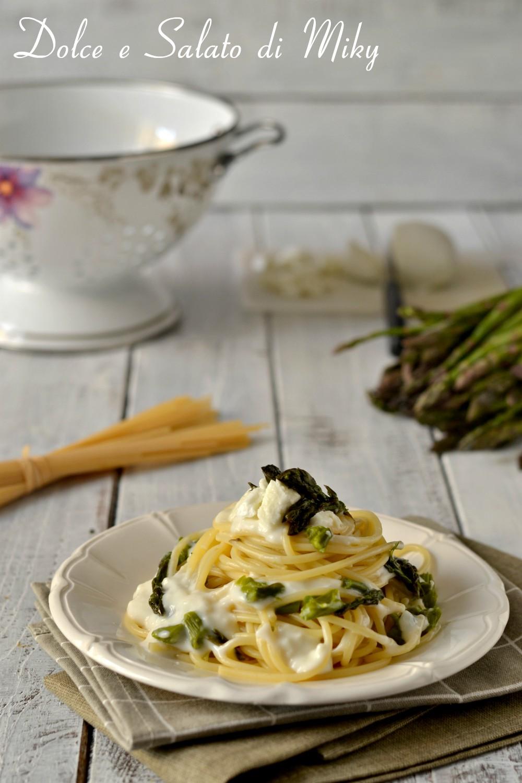 Spaghetti con Asparagi e Fonduta