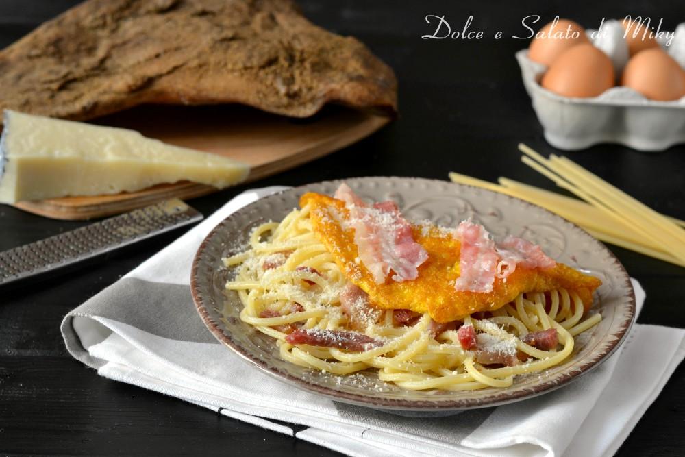 Omelette alla carbonara