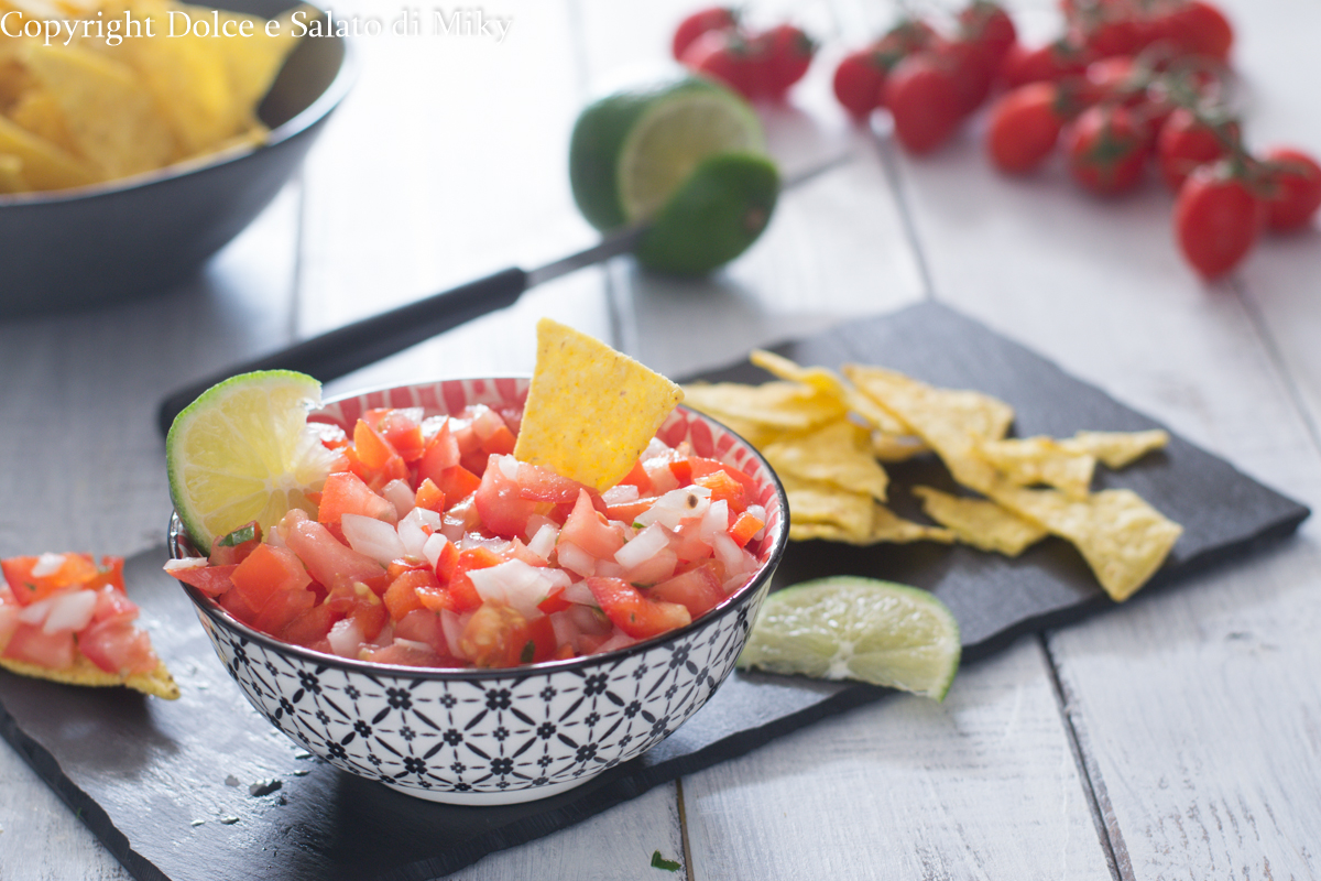 Salsa messicana per nachos