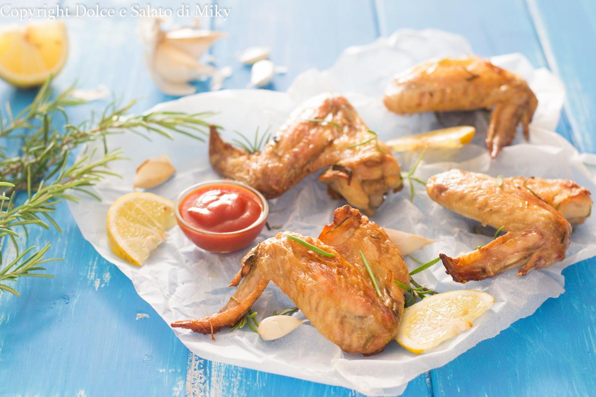 Alette di pollo al limone
