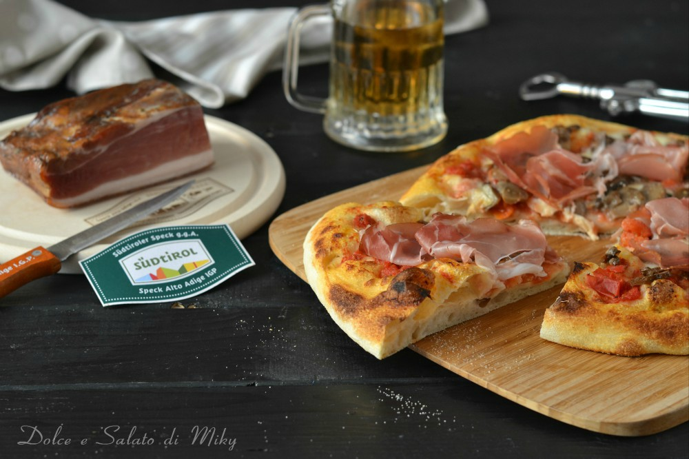Pizza alla Tirolese