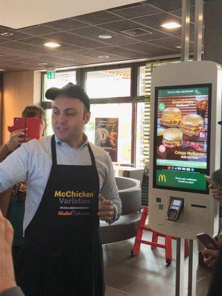Dietro le quinte con McDonald's e GialloZafferano