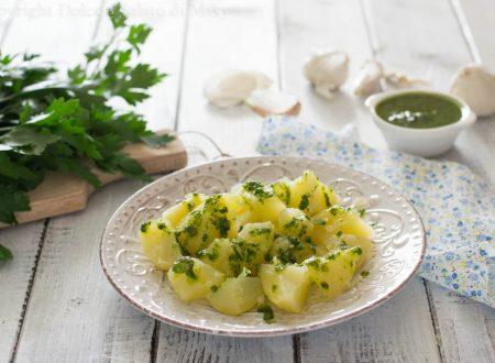 Patate in salsa verde