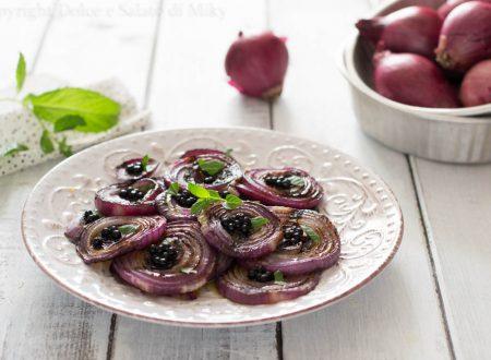 Cipolle grigliate all'aceto balsamico