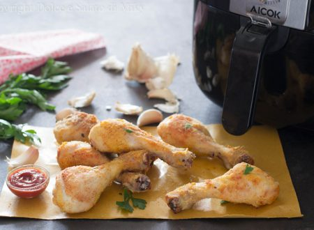 Cosce di pollo alla paprika in friggitrice ad aria