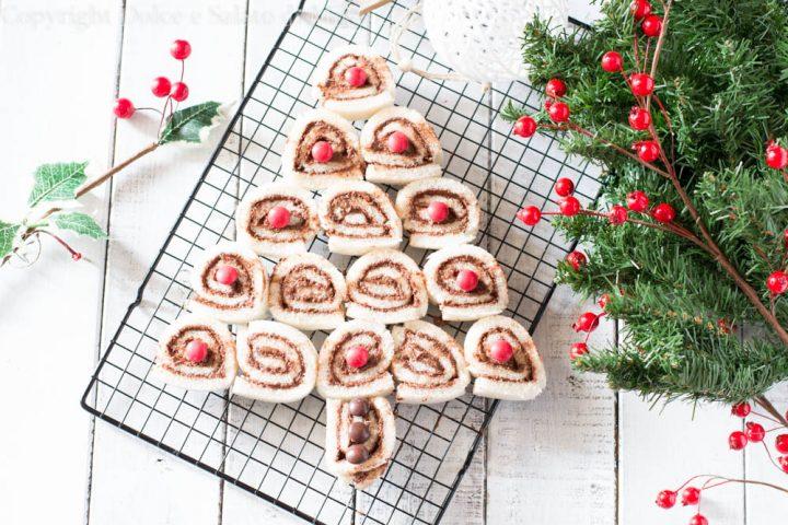 Albero di Natale alla nutella
