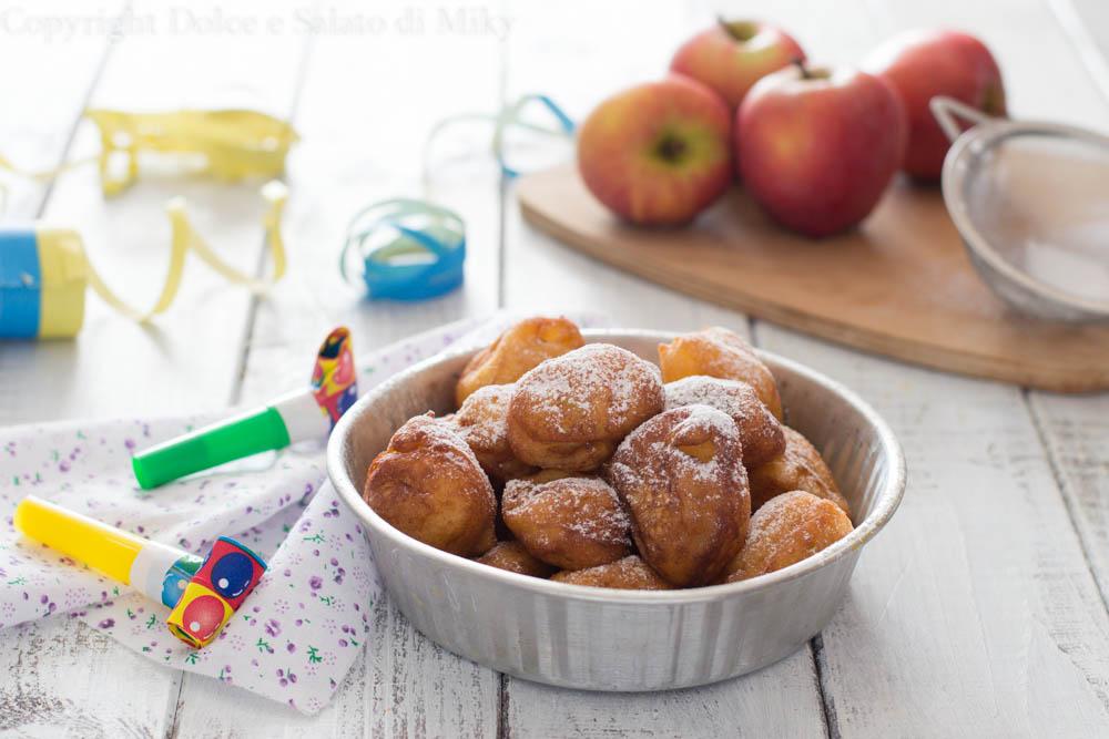 Frittelle di mele e ricotta