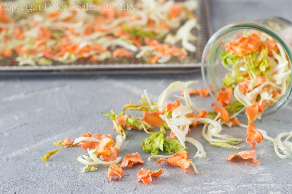 Verdure per soffritto essiccate