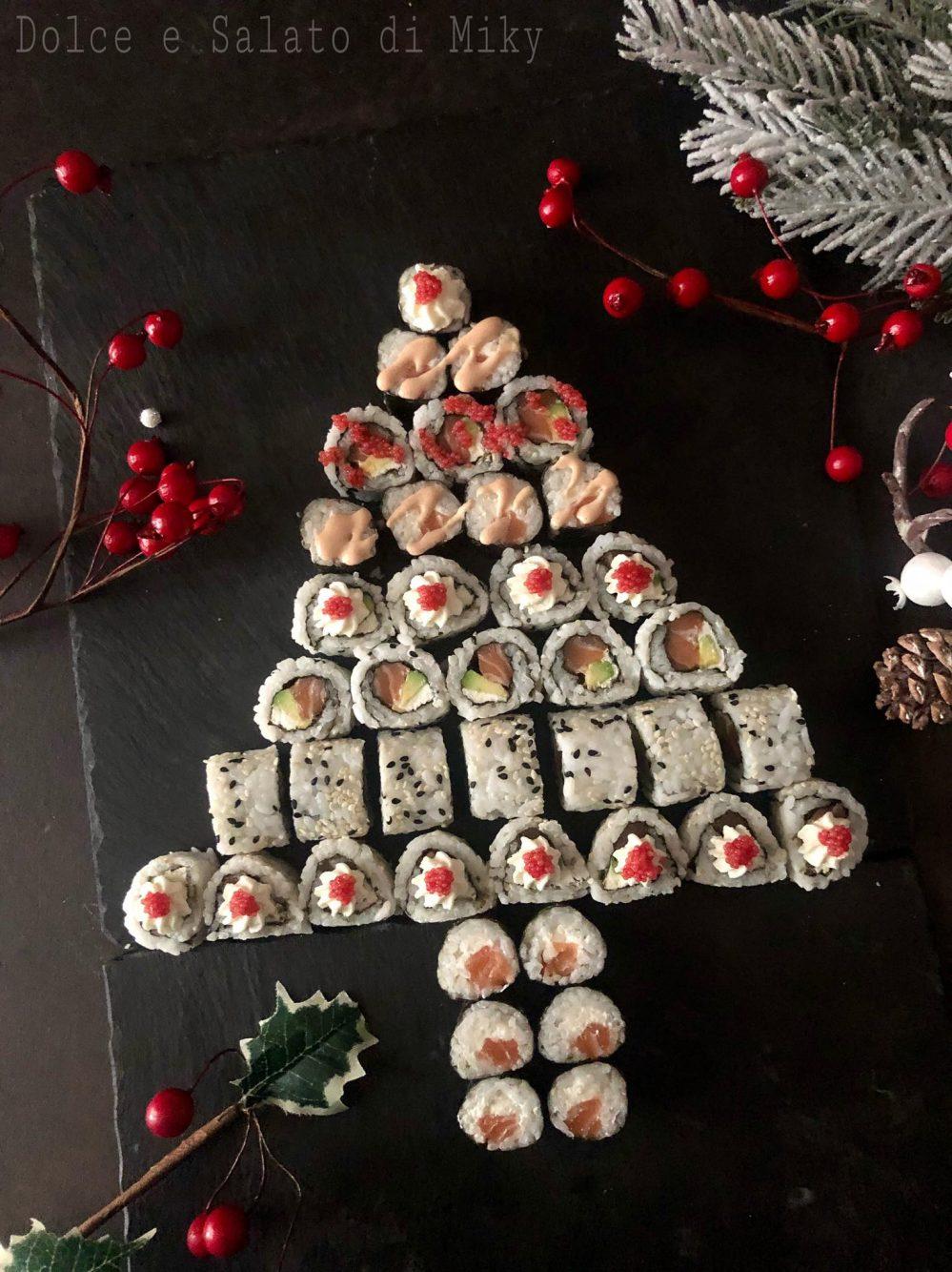 Alberello di sushi