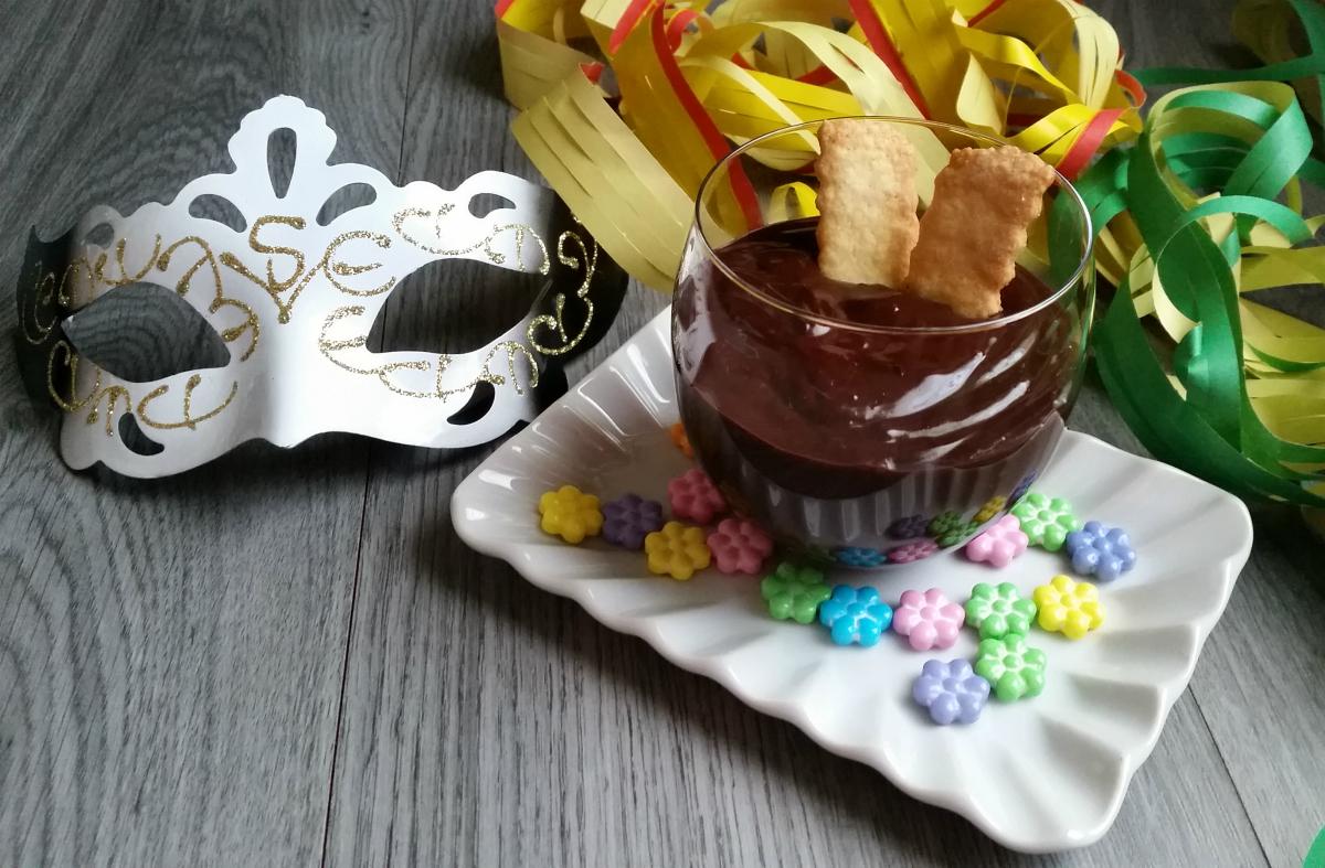 Sanguinaccio (finto) dolce di Carnevale
