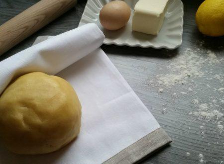 Come fare la pasta frolla ricetta facile