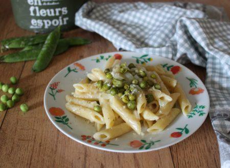 Pasta piselli burro e Parmigiano