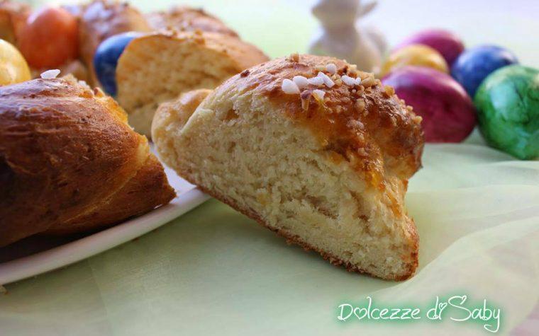 Ghirlanda di panbrioche dolce (ricetta di pasqua)