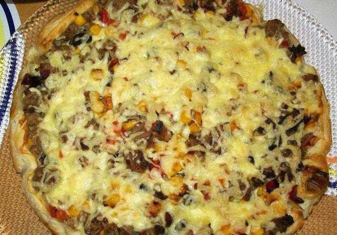 Torta salata messicana