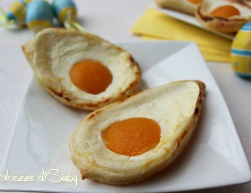 Uova al tegamino dolci